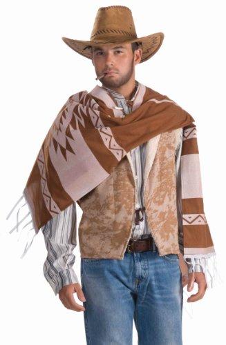 Forum Novelties - CS966683 - Poncho cowboy - taille unique