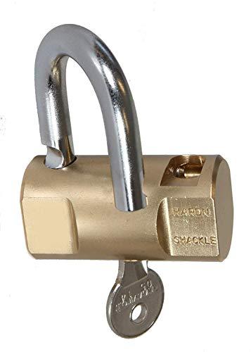 EUROXANTY® Candado Cilíndrico de Alta Resistencia | Acero Inoxidable | Incluye 3 llaves | Material...