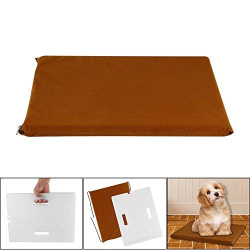 Greenbang Hundekühlmatte, selbstkühlende Pet Pad wasserdichte Hitze Relief Kissen ungiftig Sommer kalt Pad für Katze Hund (14.9x11.4x1 Zoll) -