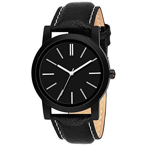 TIMESOON Analogue Black Men's Watch