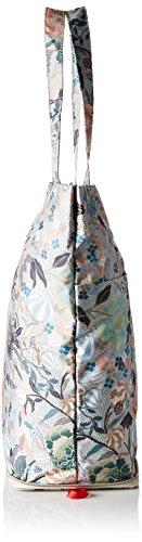 Oilily - Oilily Folding Shopper, borsetta tipo pochette Donna Beige (Melon Sorbet)