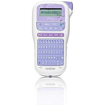 Brother P-Touch H200 mobiles Beschriftungsgerät (für den Bastel- und Dekobedarf, für 3,5 bis 12 mm breite TZe-Schriftbänder, viele Deko-Funktionen, 30-999 mm einstellbare Etikettenlänge)