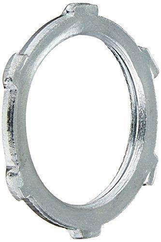 Halex 61910B Conduit Locknuts Rigid and Intermediate Metallic Conduit (IMC) Fitting Steel (100 Piece), 1 by Halex -