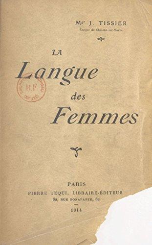 La langue des femmes (French Edition)