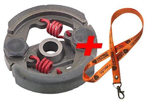 Motor Kupplung (Nitro Motors Pocketbike Tuning Kupplung 2-Backen Ersatzteil Clutch ET)