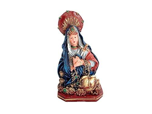 5Inch Mater Dolorosa Estatua Nuestra Señora de siete dolores de María Maria figura decorativa