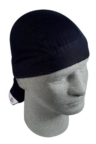 ROAD HOG, FLYDANNA;, 100% COTTON, SOLID BLACK, Manufacturer: ZANheadgear, Manufacturer Part Number: ZSG114-AD, Stock Photo - Actual parts may vary. by Zanheadgear