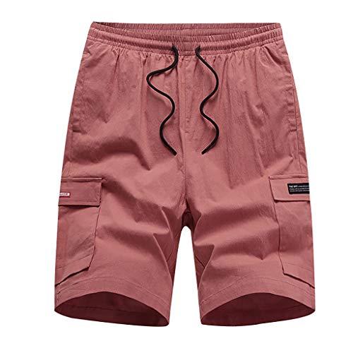 Eaylis-herren-shorts Sommer Neue Mehrfarbige Multi-Pocket-Tooling-Shorts Mit Tunnelzug Und Losem Schnitt