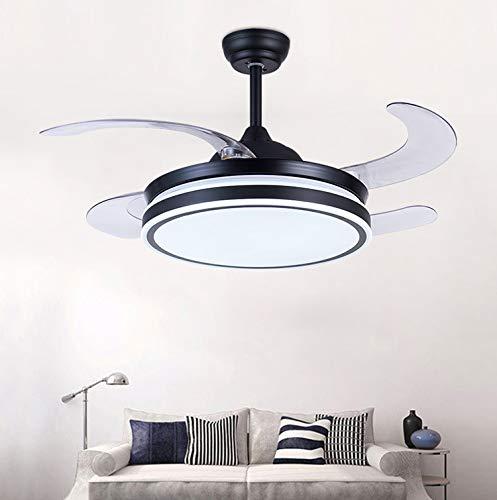 IV-ydzxx Luftreinigungs-Deckenventilator Negativ-Ionen-Luftreinigungsventilator Mit Lampe Unsichtbare Deckenventilatorlampe Für Wohnzimmer, Esszimmer, Arbeitszimmer,42inch - Espresso-esszimmer