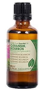 Olio di Geranio Bourbon - Olio Essenziale Puro al 100% - 50ml