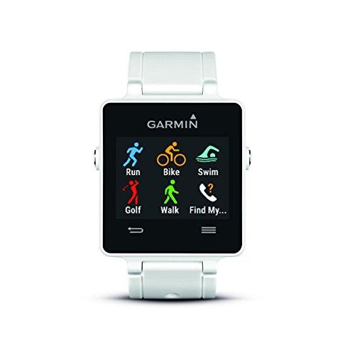 Garmin Vivoactive GPS-Smartwatch Weiß