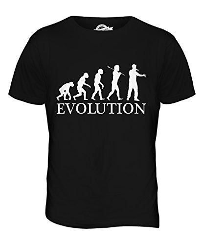 CandyMix Rap Rapper Evolution Des Menschen Herren T Shirt Schwarz