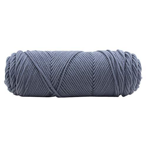 TianranRT 100g Chunky Wolle Roving Schal stricken Wolle Garn Dicke warm Hut Haushalt (G) -