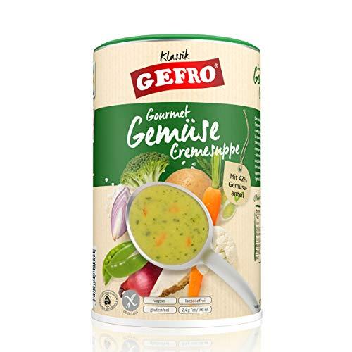 Gefro Gemüse-Creme-Suppe mit hohem Gemüseanteil, als eigenständige Suppe oder zum Verfeinern (600g)