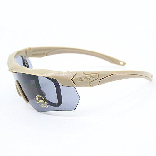 Douerye Taktische Gläser der Armbrust Tragen Die Militärenthusiasten, Die Kugelsicheren Augenschutz Schießen,Beige