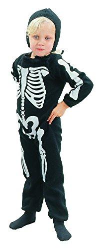 Baby Toten Der Tag Kostüm - Bristol Novelty CC041 Skelett Kostüm für Kleinkinder