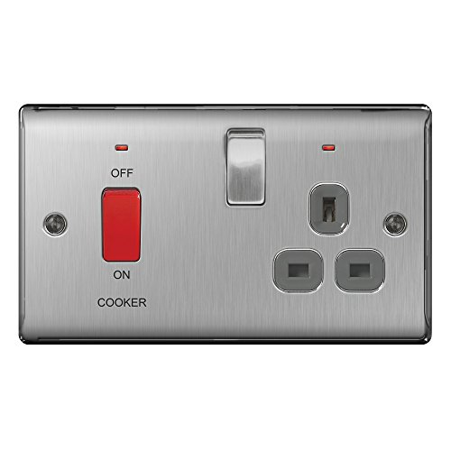 masterplug-nbs70g-45-a-metal-brushed-steel-double-pole-switch-with-13-a-socket-and-neon-grey-insert