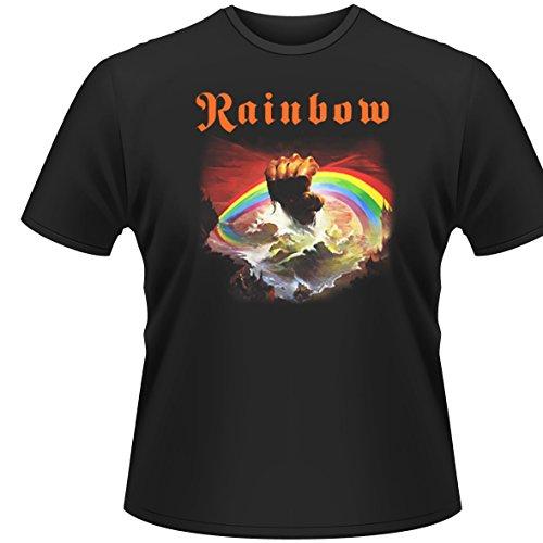 Plastic Head Herren T-Shirt Rainbow-Rising Schwarz