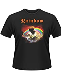 Plastic Head  Rainbow Rising Mens T-Shirt