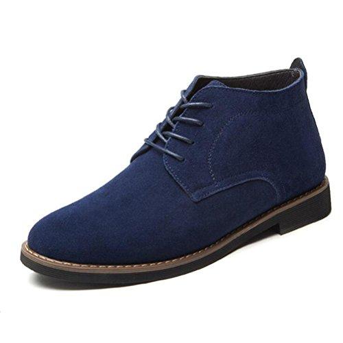 Vogstyle Herren Montacute Boots Kurzschaft Stiefel Schnürhalbschuhe Art 3-Blau