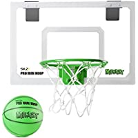 SKLZ HP14-MDNT-000 Büro Zimmer Tür Basketballkorb Pro Mini Hoop Midnight