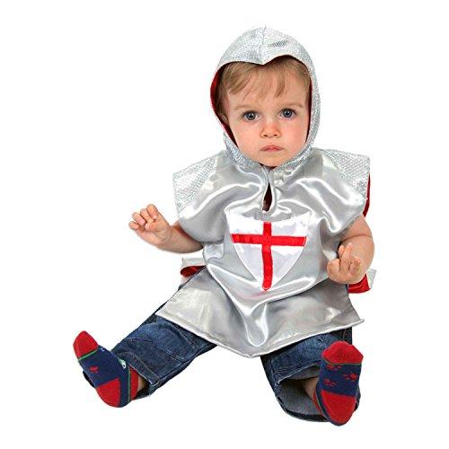 Ritter Kostüm Baby Kinderkostüm Ritter 92 (1-2 Jahre alt) - Kreuzritter Kostüm Baby - Slimy (Jahr Alt Kostüme 1)