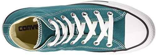Converse Unisex-Erwachsene All Star Hi Canvas Seasonal Lauflernschuhe Sneakers Rebel Teal