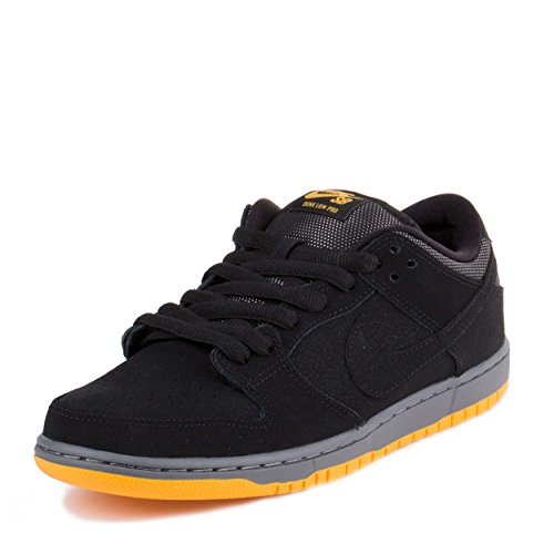 Nike Dunk Low Pro SB Nero/Oro black-university Sintetico Misura 4 Skateboard