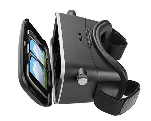 Trust Urban Exos 3D-Virtual Reality-Brille (geeignet für Smartphone) schwarz