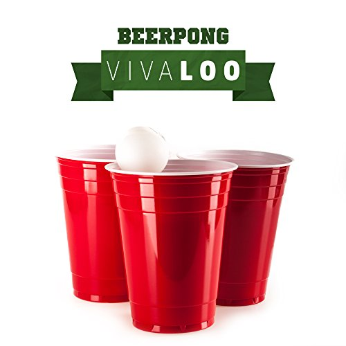 preisvergleich rote partybecher 100 st ck beer pong party cups willbilliger. Black Bedroom Furniture Sets. Home Design Ideas
