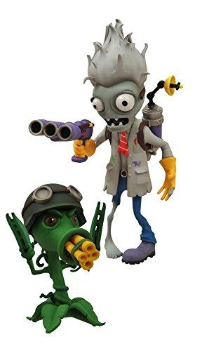 Preisvergleich Produktbild Plants vs. Zombies Garden Warfare: Gatling Pea & Scientist Zombie Action-Figurs