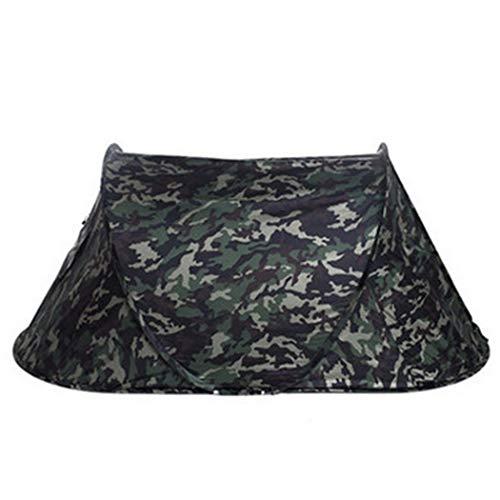 GJFeng Outdoor Klappautomatik Frei, Um EIN Einzelnes Zelt Geschwindigkeit Offen Camouflage Camping Bergsteigen Winddicht Regen Single Soldat Zelt Zu Bauen (Farbe : C, größe : 1 People)