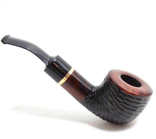 smoke-pipe-kentucky-no-43-pear-wood-root-hand-maderusticated-mahogany-by-mr-brog