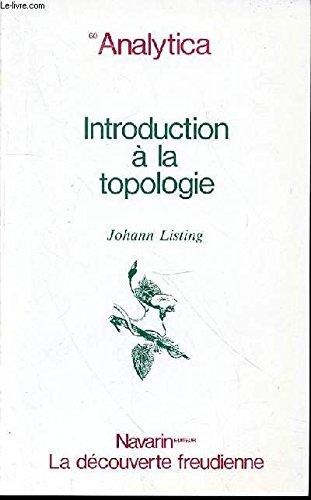 Introduction A La Topologie par Johann Listing