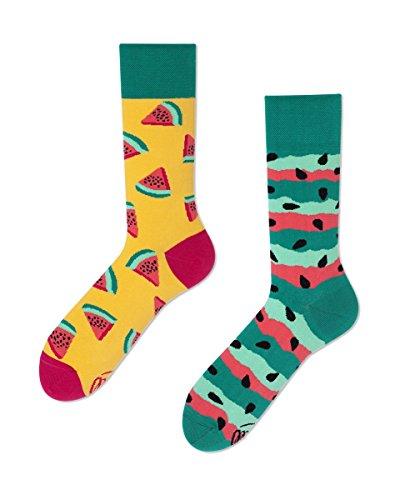 Many Mornings unisex Socken Watermelon Splash (43/46) -