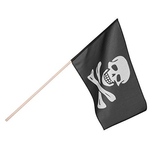 ck Pirat (45 x 30 cm) Piratenflagge (Piraten Flagge)