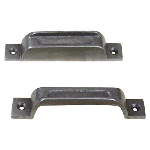 Black Antique Iron Door Traditional Rim Lock Latch Keep Narrow - Buy