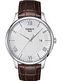 Tissot Tradition - Reloj (Reloj de pulsera, Masculino, Acero inoxidable, Acero inoxidable