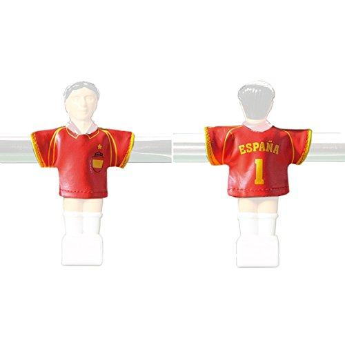 Kicker-Trikot Tischfussball Zubehör, Trikot-Set Spanien