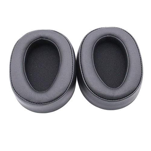 Colorful 1 Paar Ersatz Ohrpolster für Sony MDR-100ABN High-Resolution Kopfhörer,Ersatzohrpolster für Sony WH-H900N High-Resolution Kopfhörer (Grau) Wh-audio