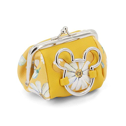 Karactermania Mickey Mouse Camomilla-Clip Coin Purse Porte-Monnaie, 10 cm, Jaune (Yellow)