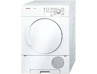 Bosch WTC84100IN Condensed Galvanised Drum Dryer (7 Kg, White)