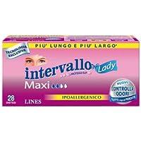 Lines Salvaslip Intervallo Lady Maxi de algodón, hipoalergénico, ...
