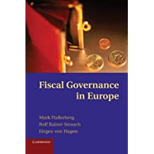 Fiscal Governance in Europe (Cambridge Studies in Comparative Politics)