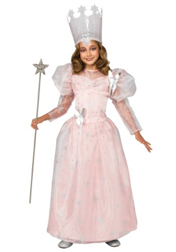 Rubies Fancy dress costume Co. Inc Girls Deluxe Child Glinda the Good Witch Fancy dress  sc 1 st  SaveMoney.es & Rubies costume co. inc der beste Preis Amazon in SaveMoney.es