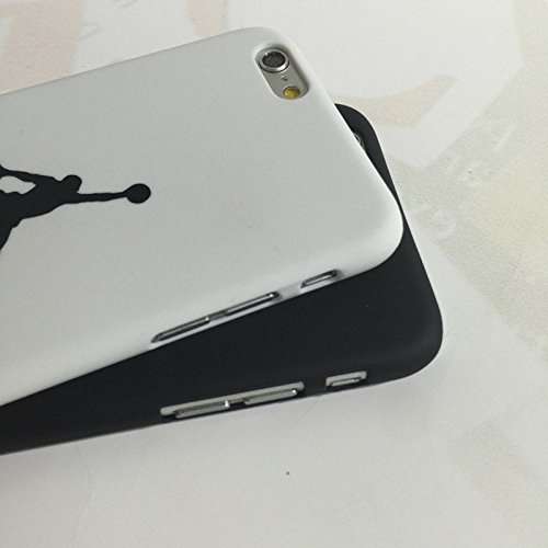 Air Jordan Custodia/Cover per iPhone 5/5S Michael Jordan Chicago Bulls black nero white