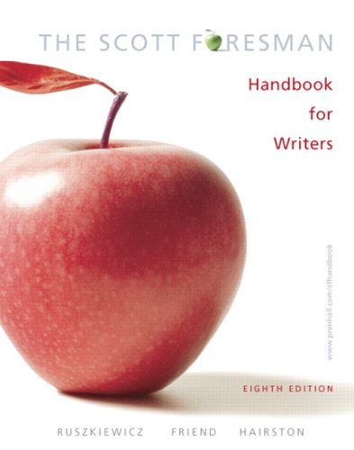 Scott Foresman Handbook for Writers (MyCompLab NEW with E-Book Student Access Code Card)