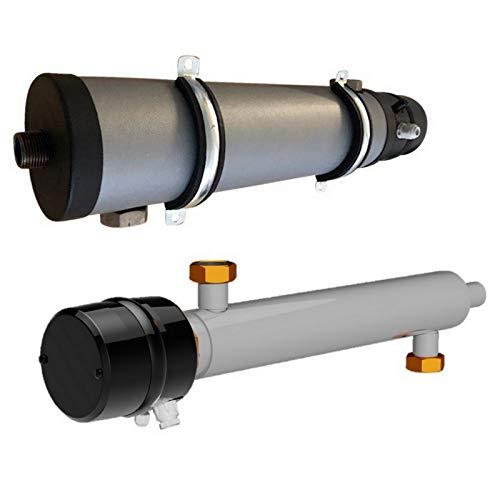 3-9 kW Elektroheizelement Rohrheizkörper für Zentralheizungsanlagen, Wärmepumpen -
