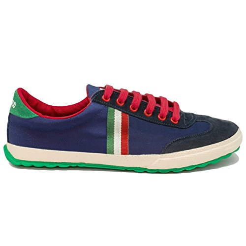 Scarpe Match Canvas Dark Blue Ribbon di EL GANSO Scarpe blu Size: 36