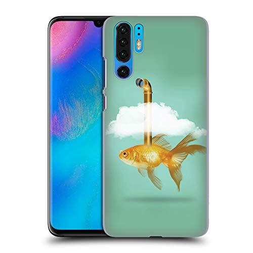 fizielle Vin Zzep Periskop Goldfisch Fisch Ruckseite Hülle für Huawei P30 Pro ()